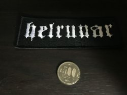 画像1: Helrunar - Old Logo /  Patch
