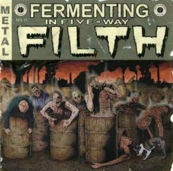 画像1: Fermenting in Five-Way Filth / CD