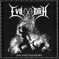 画像1: Evil Bitch - Sin and Pleasure / CD