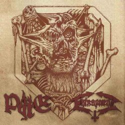 画像1: Pyre / Entrapment - Split / CD