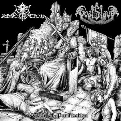 画像1: Absolvtion / Goatslave - Elegy of Purification / CD