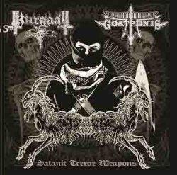 画像1: Goatpenis / Kurgaall - Satanic Terror Weapons / CD