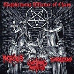 画像1: Perlokus / Nocturnal Damnation / Disforterror - Blasphemous Alliance of Chaos / CD