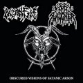 Nunslaughter / Paganfire - Obscured Visions of Satanic Arson / CD