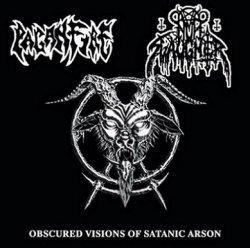 画像1: Nunslaughter / Paganfire - Obscured Visions of Satanic Arson / CD
